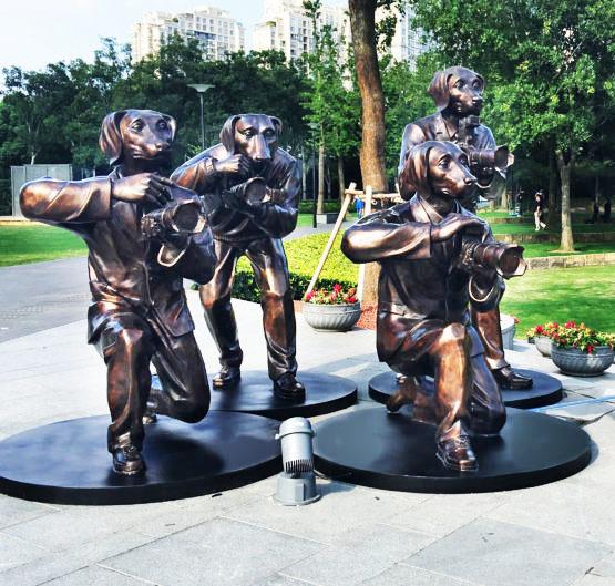 , 'Paparazzi Pack – Jing'an Sculpture Park, Beijing,' , Gillie and Marc Art Gallery