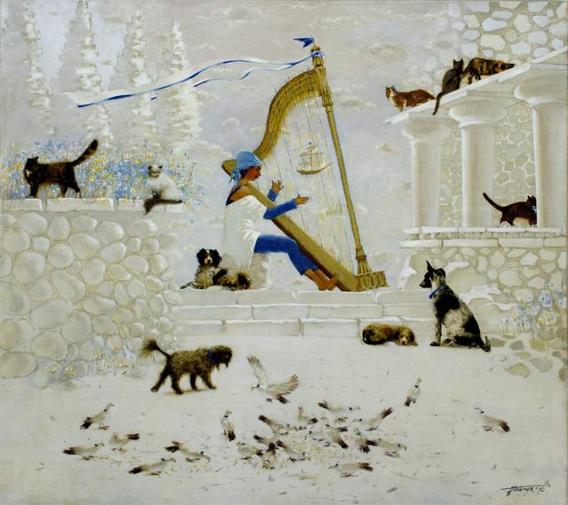 Tatyana Palchuk, 'Crete Tune ', 2010, Painting, Oil on Linen, Alessandro Berni Gallery