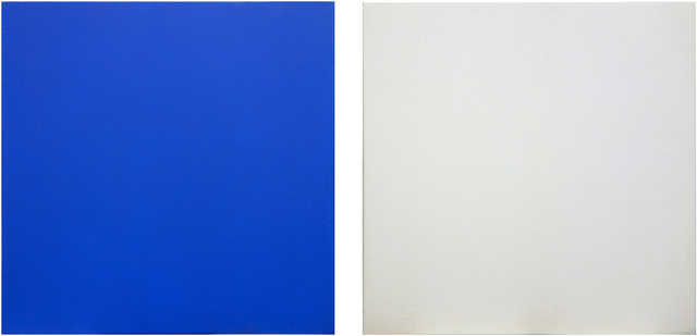 , 'Untitled Diptych (Blue/White),' 1994, George Lawson Gallery