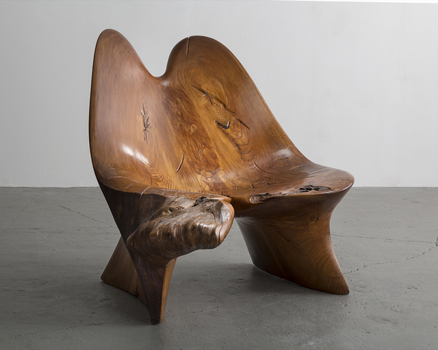 , 'Siberian Burl Elm Chair,' 1981, R & Company