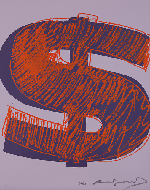 Andy Warhol, '$(1)', 1982, Phillips