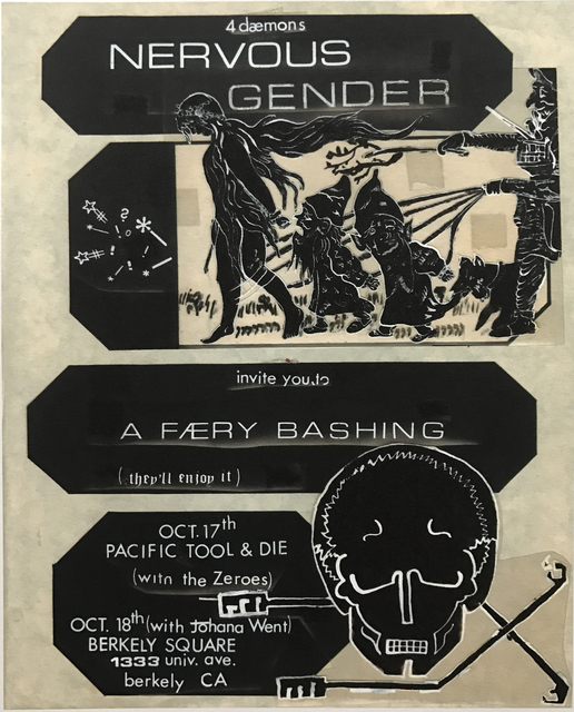 , 'Untitled Nervous Gender Gig Flyer #26,' , Coagula Curatorial