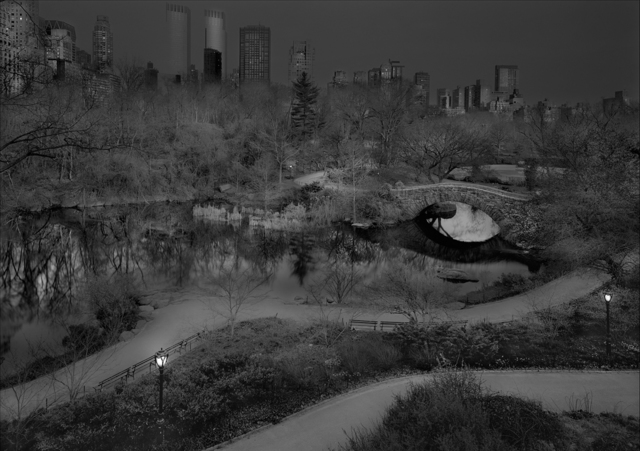 , 'North West View, Central Park, New York City,' 2014, ClampArt