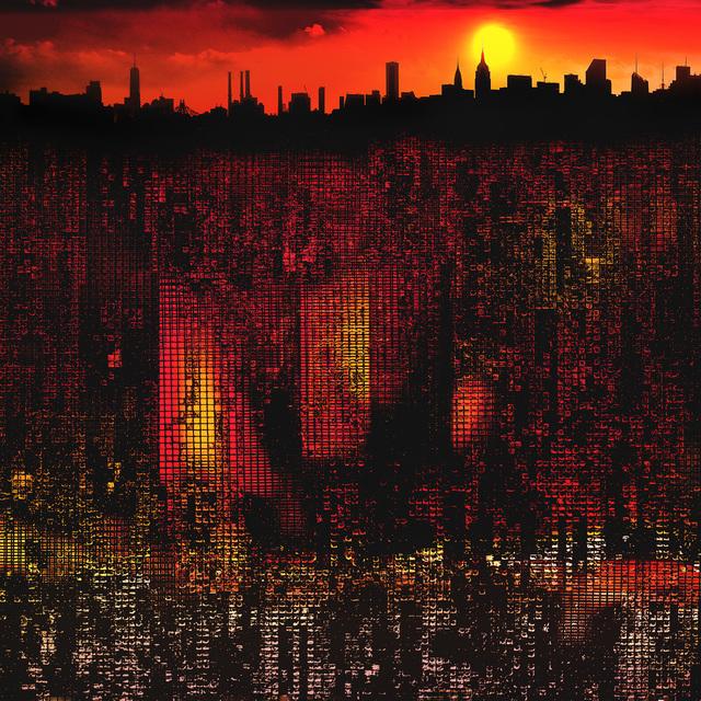 Steve Bennett, 'Metrovolution #2-Summer', 2021, Photography, Dye sublimation composite photo on aluminum, Array Contemporary