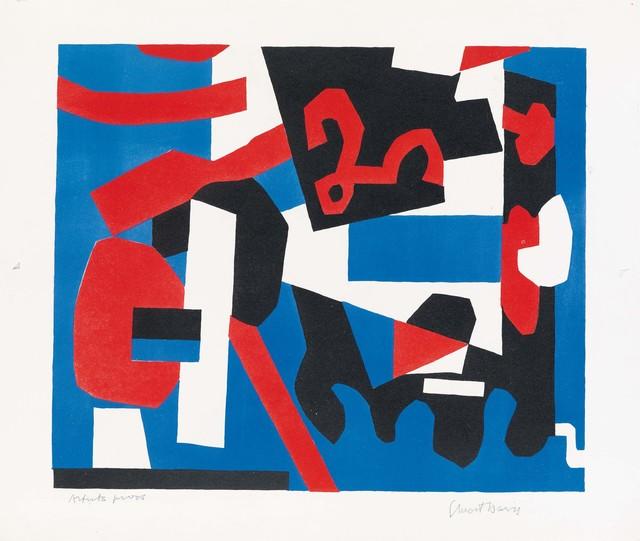 , 'Detail Study for Cliche,' 1957, Nikola Rukaj Gallery