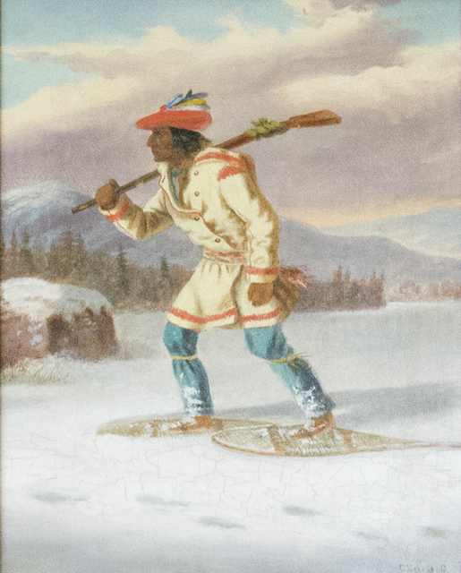 , 'Trappeur Indian,' 1854, Oeno Gallery