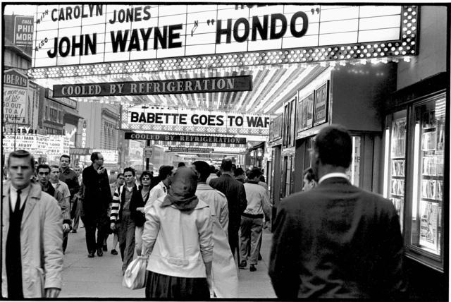 , 'Movie Row, West 42nd Street, NYC,' 1960, Robert Mann Gallery