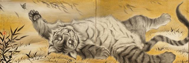 Ryoko Kimura, 'Gorogoro Tora Zu – A Purring Tiger', 2018, Micheko Galerie