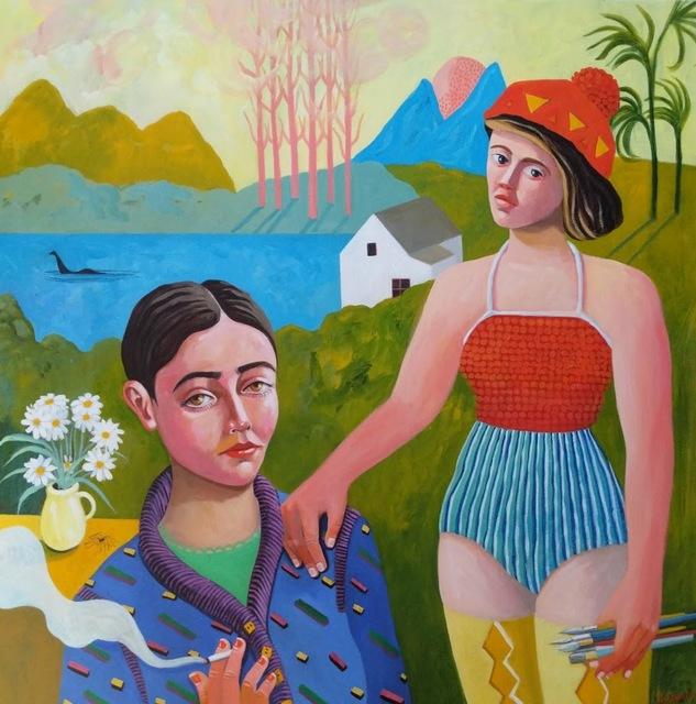 , 'English Girls,' 2019, Kittoe Contemporary