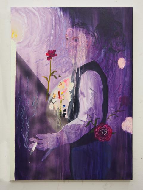 , 'Portrait of a Painting as Self-Portrait,' 2016, Yautepec