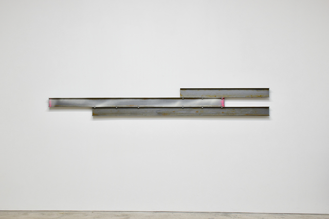 , 'Untitled Steel Beams (3 parts),' 2018, Honor Fraser