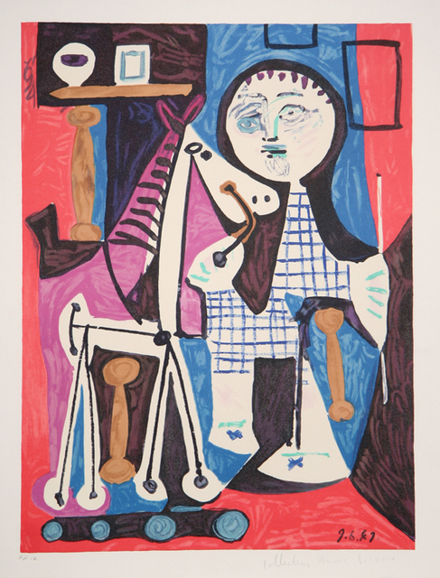 Pablo Picasso, 'Claude a Deux Ans', 1973-originally created in 1949, Print, Lithograph on Arches Paper, RoGallery