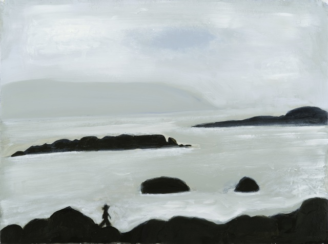 , 'Man Walking Rocks At Sea,' 2014, Sears-Peyton Gallery