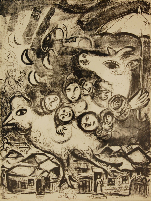Marc Chagall, 'In Paris', 1967, Baterbys