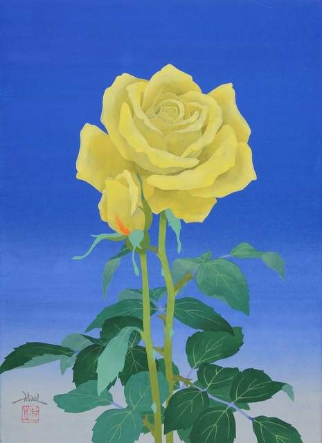 , 'Yellow Rose,' 2018, SEIZAN Gallery