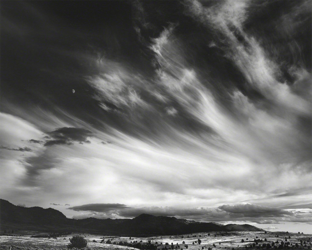 Ansel Adams, 'Moon and Clouds, Northern California', 1959, Atlas Gallery