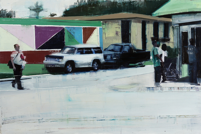 , 'Little Haiti (Waiting #224),' 2014, Jonathan LeVine Projects