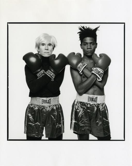 , 'Andy Warhol & Jean-Michel Basquiat #143, July 10, 1985, New York City,' 1985, Gagosian