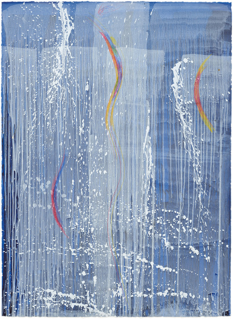 , 'Blue Falls with Two Rainbows,' 2005, Pace Prints