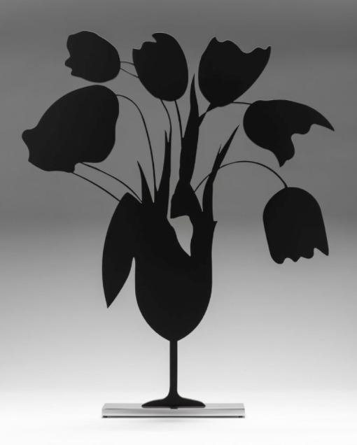 Donald Sultan, 'Black Tulips and Vase, April 5', 2014, ARC Fine Art LLC