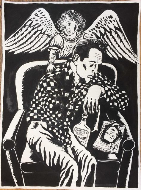 , 'Jack Kerouac,' 2017, Suzanne Tarasieve
