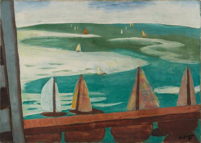 , 'Spotorno, Blick aus dem Fenster,' 1926, Moeller Fine Art