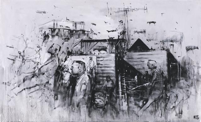 "Konstantin Batynkov, '""Life is all around us 2""', 2019, Krokin Gallery"