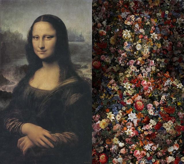 , 'Mona Lisa Vanitas (55-inch),' 2016, Pontone Gallery