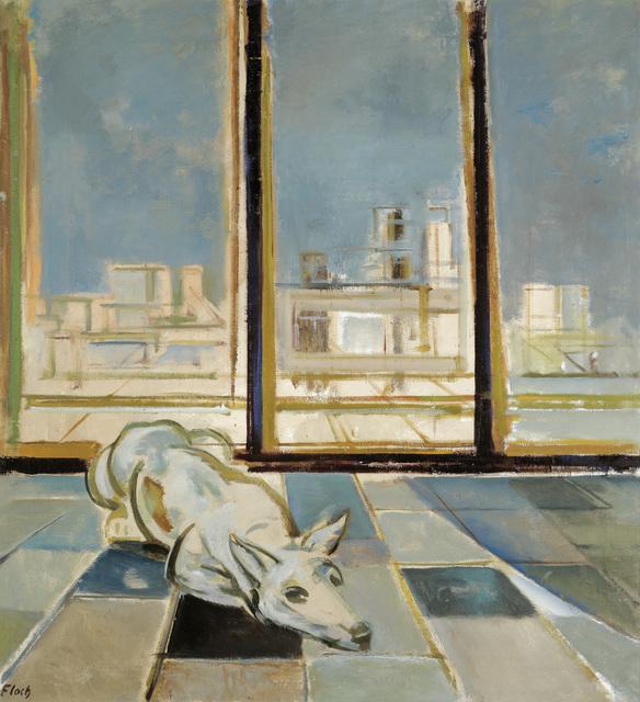 , 'Dog on terrace,' 1964, W&K - Wienerroither & Kohlbacher
