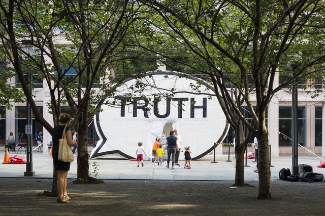 , 'In Search of the Truth (The Truth Booth),' 2011, Public Art Fund