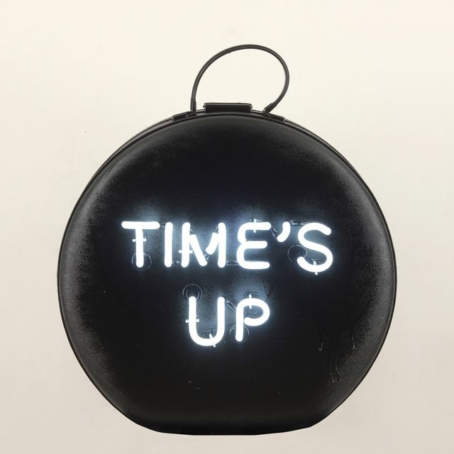 , 'Black time's UP American Tourister ,' 2018, Nancy Hoffman Gallery