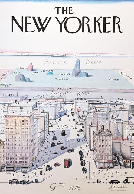 Saul Steinberg, 'The New Yorker', 1976, Alpha 137 Gallery