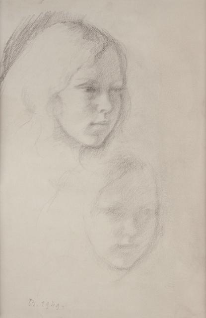 , 'Double Portrait de Jacqueline Matisse,' 1947, HDM Gallery