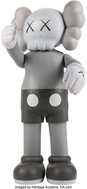 KAWS, 'Companion (Grey)', 2007, Other, Painted cast vinyl, Heritage Auctions