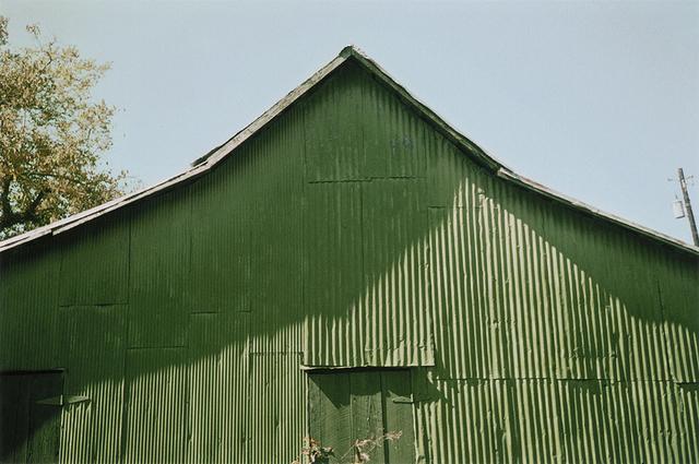 William Christenberry, 'Green Warehouse, Newbern, Alabama', 2006, Pace/MacGill Gallery