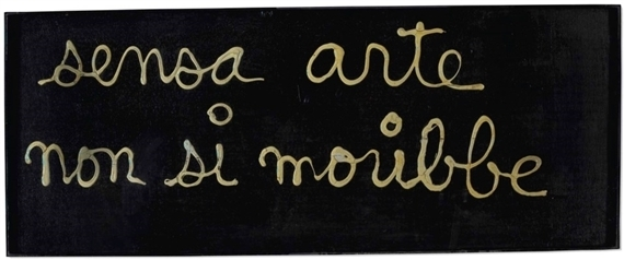 , 'Sensa arte non si moribbe,' 1971, We Art Partners