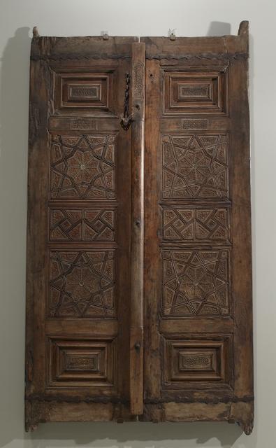 Qanbar ibn Mahmud, 'Mausoleum Doors', 1551-1552, Walters Art Museum
