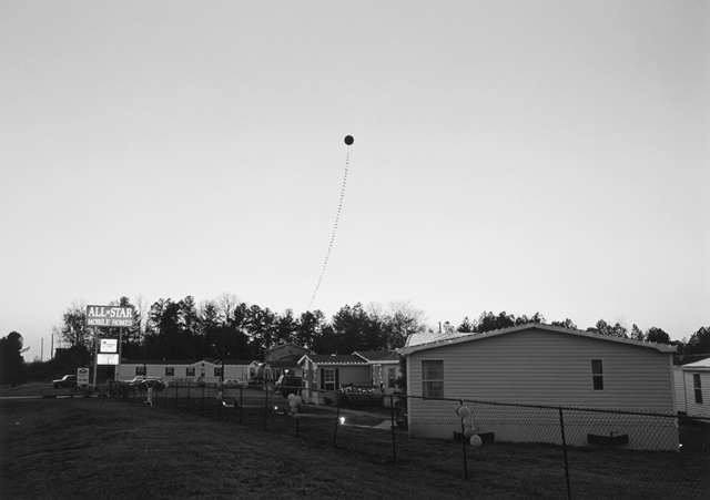 , 'Athens, GA (balloon at dusk),' 1995, Yancey Richardson Gallery