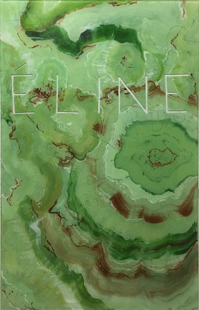 , 'Young ruins - onyx vert - ELINE,' 2015, Galerie Laurent Godin