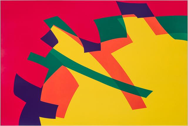 , 'Amarillo - Rojo PCV ,' 2015, Marion Gallery