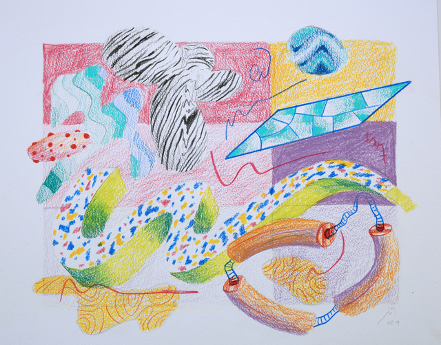 Athier Mousawi, 'Fade and Float drawing 3', 2019, Contemporary Art Platform Kuwait