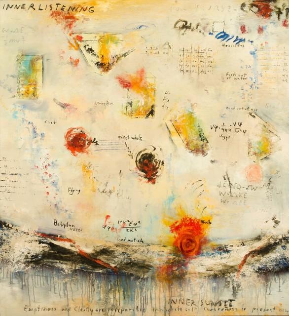 Adam Shaw (b. 1957), 'Inner Listening, Inner Sunset', ÆRENA Galleries and Gardens