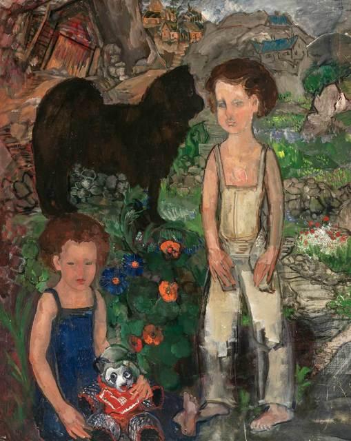 Boris Izrailovich Anisfeld, 'Children', Doyle