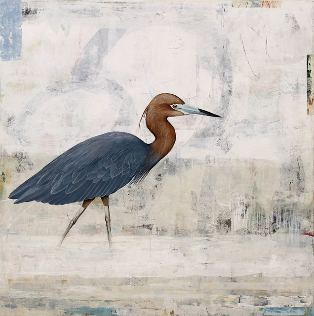 , 'Current Calling (Little Blue Heron),' 2017, Patricia Rovzar Gallery