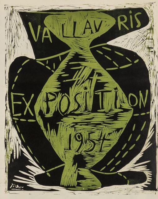 Pablo Picasso, 'Vallauris Exposition (Bloch 1263; Baer 1026B)', 1954, Forum Auctions