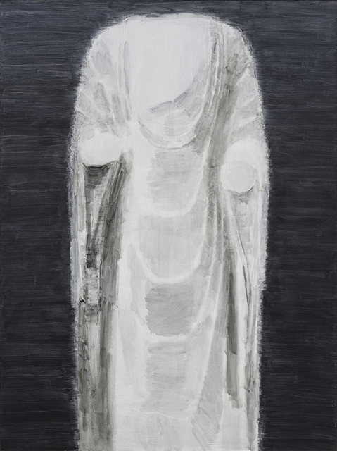 , 'White Marble Figure ofBuddha No.4,' 2014, Leo Gallery