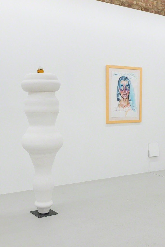 Installation view, Andrea Williamson at Annka Kultys, London, 2017 Photo: Annka Kultys Gallery (Damian Griffiths)