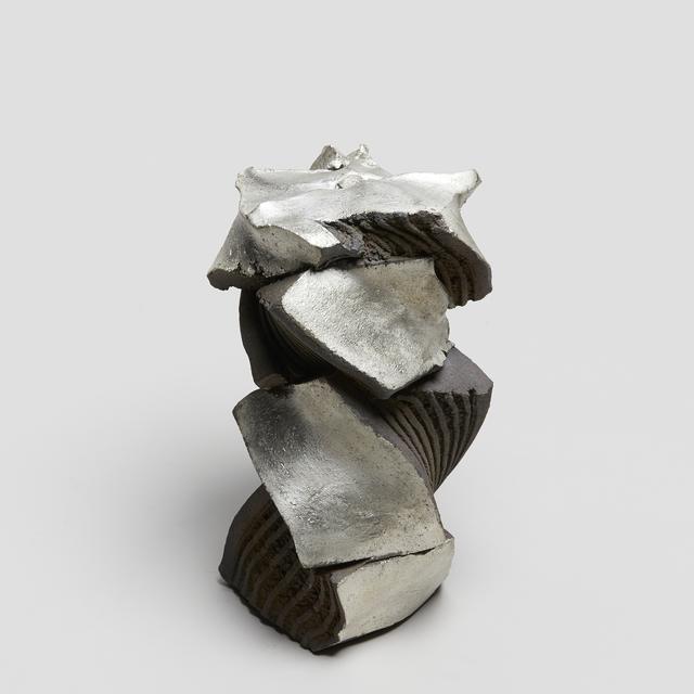 , 'Sculptural form, silver/black,' 2018, Japan Art - Galerie Friedrich Mueller