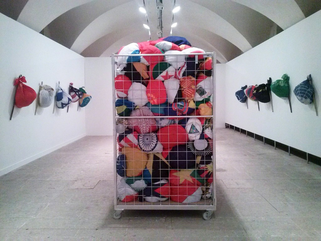 Meschac Gaba, 'Voyages Colis,' 2013, In Situ - Fabienne Leclerc