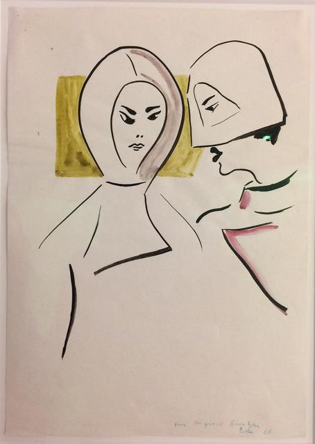 , 'o. T. ,' 1966, Galerie Schwarzer